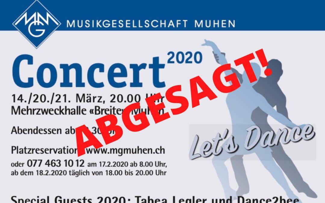 Concert 2020 Musikgesellschaft Muhen