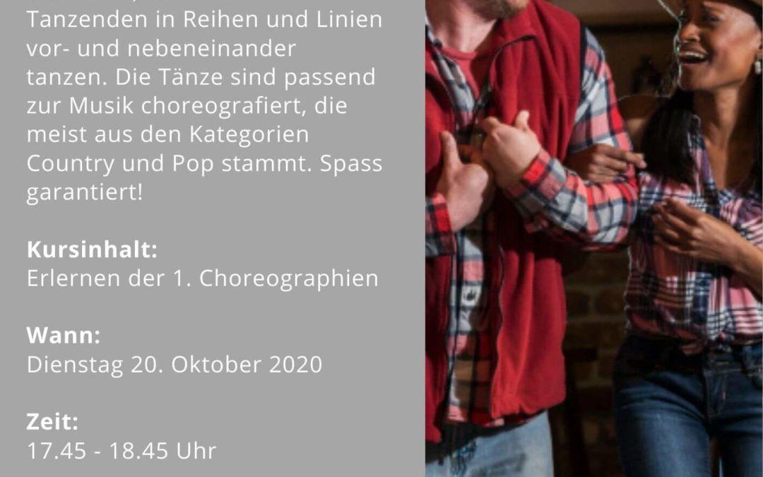 Line Dance Oktober 2020