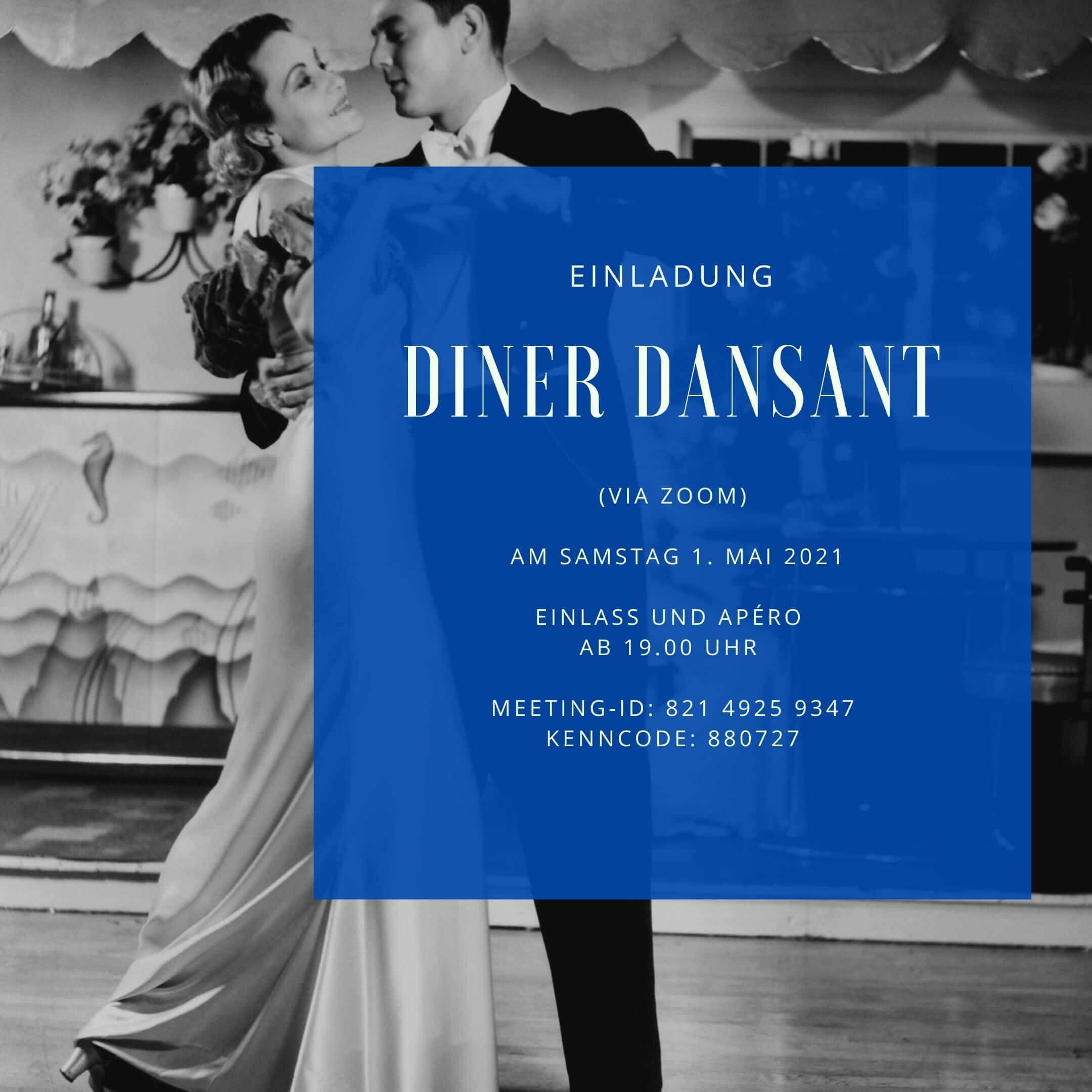 Diner Dansant 01. Mai 2021